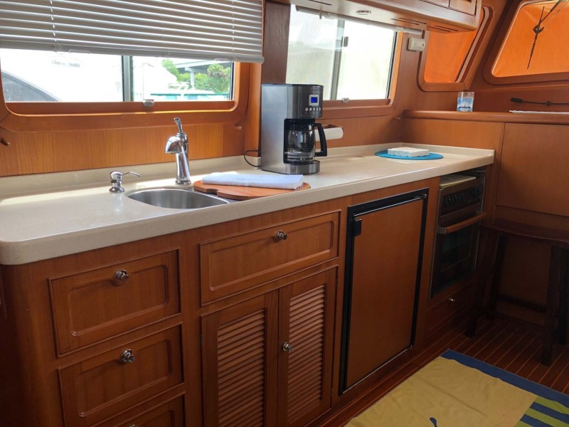 Galley to Port Mid-Ship