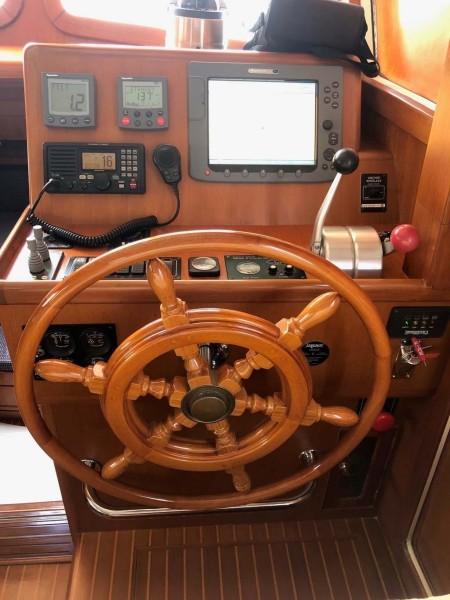 Lower Helm - Wood Steering Wheel