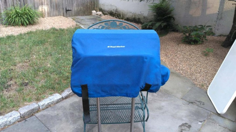 Grill with Cover
