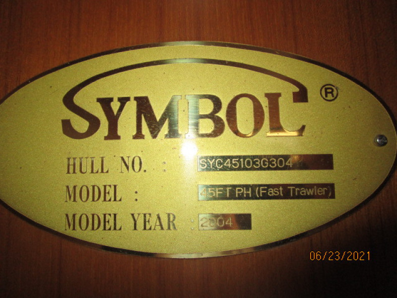 45' Symbol build plate