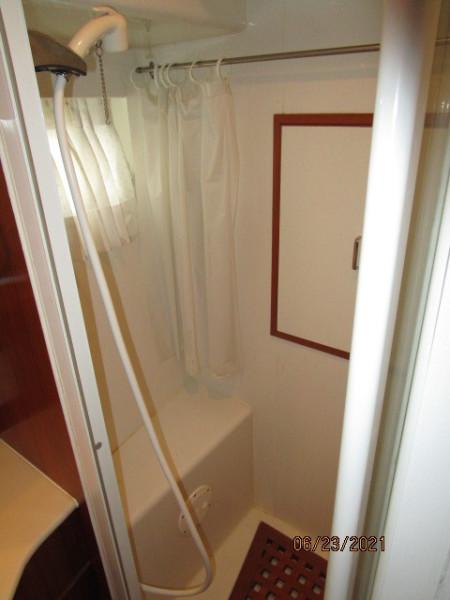 45' Symbol guest shower