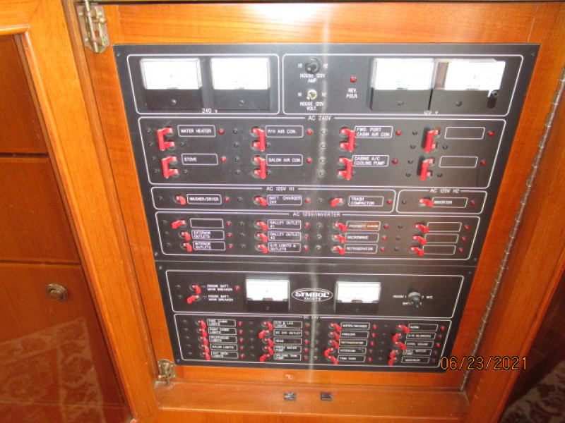 45' Symbol electrical panel