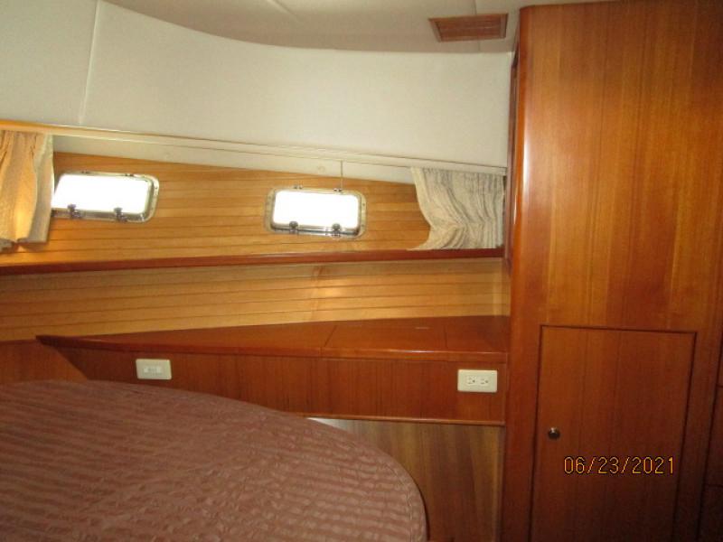 45' Symbol master stateroom starboard