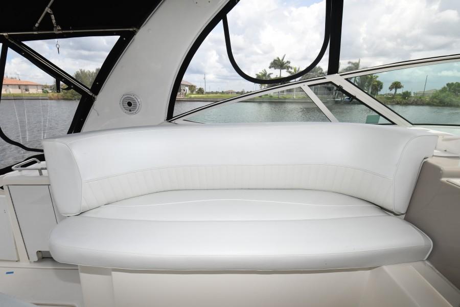 2004 37 Cruisers Express - Fair Profit - Helm Companion Seat