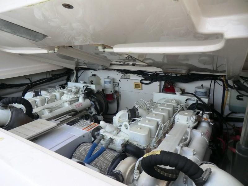 2008 Tiara 36 Open Engine Room