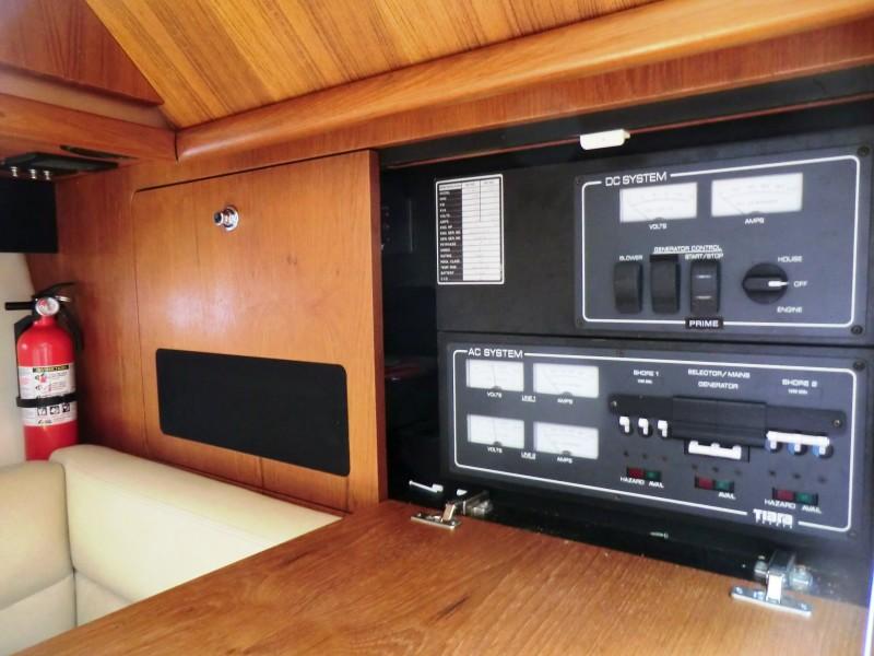 2008 Tiara 36 Open Electric Distribution Panel
