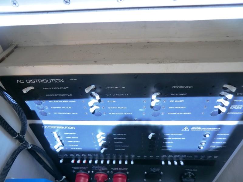 2008 Tiara 36 Open Electric Under Companionway Step