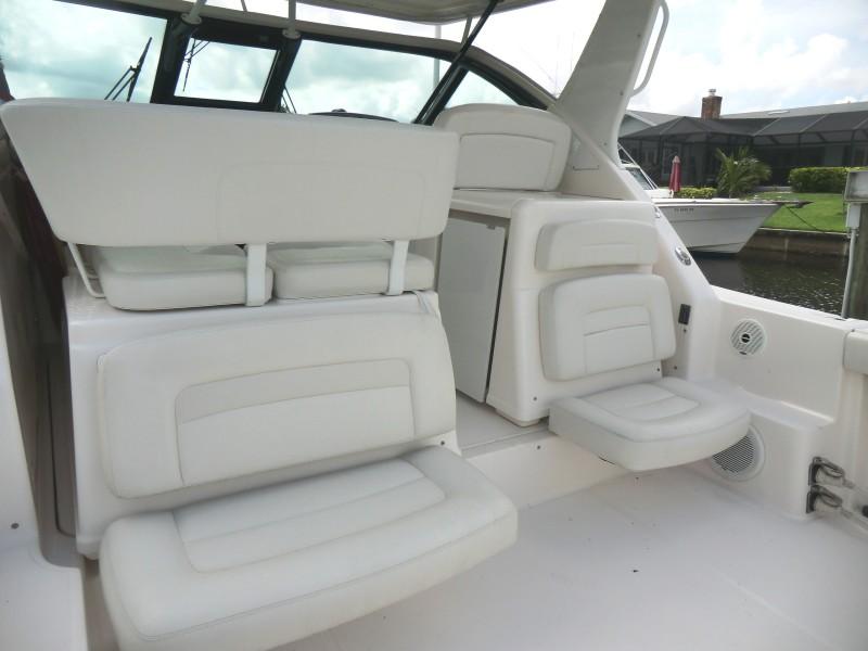 2008 Tiara 36 Open Cockpit  Aft Facing Seating