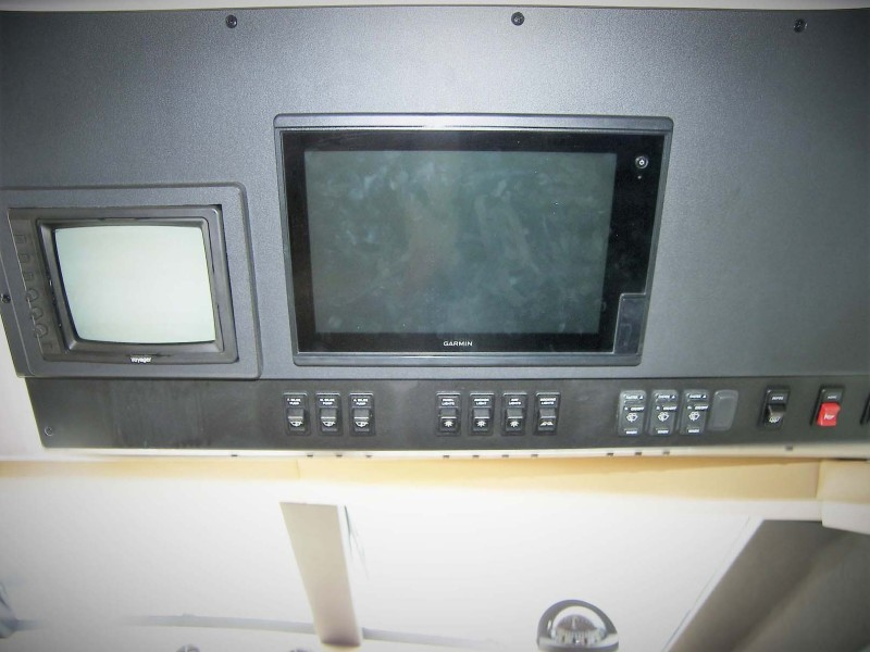 Overhead Electronics At Lower Helm
