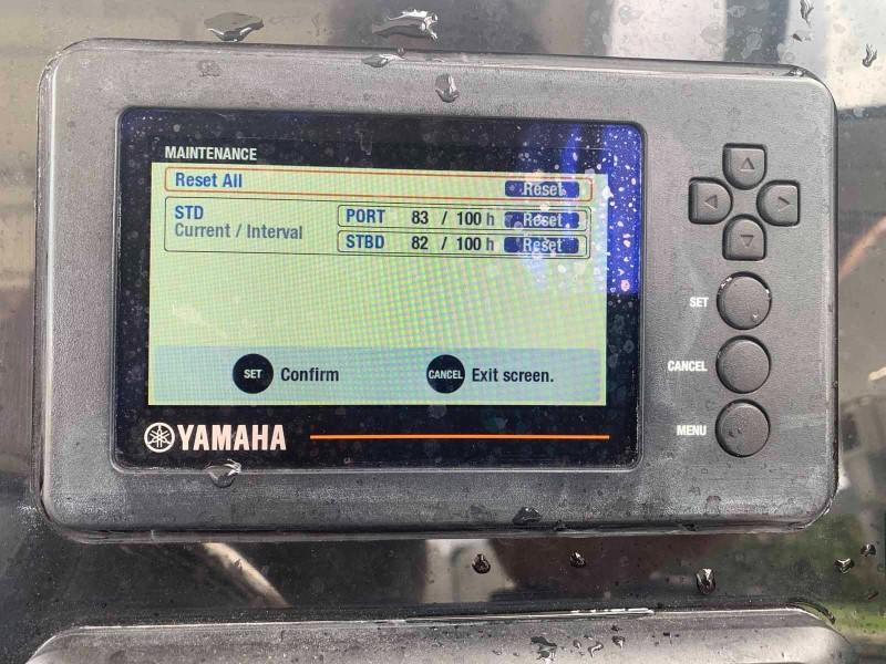 Yamaha Engine Gauge