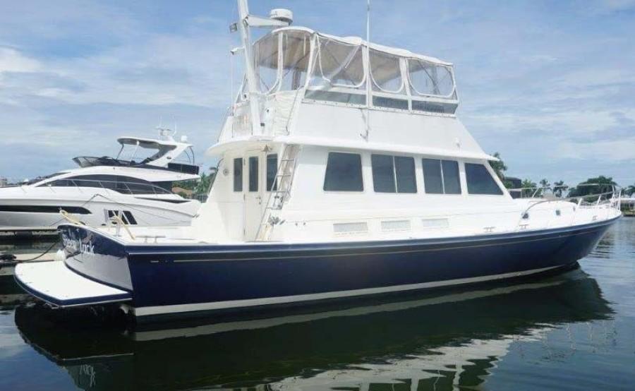 Little Harbor-WhisperJet Flybridge Cruiser 1999-Sheer Luck Marco Island-Florida-United States-Main Profile-1722807-featured