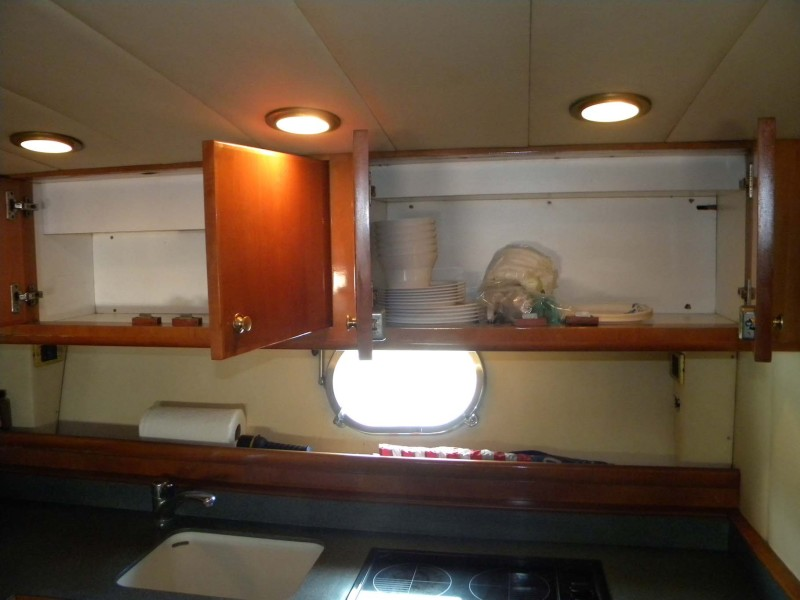 Galley Cabinets Stove