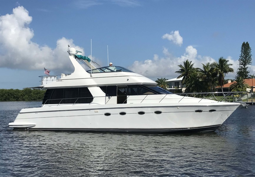 Carver-53 Voyager 1998-Sitting Duck Cape Coral-Florida-United States-Main-1724541-featured