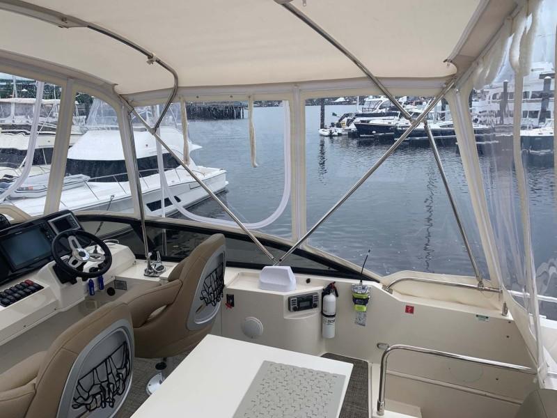 Command Bridge Starboard View