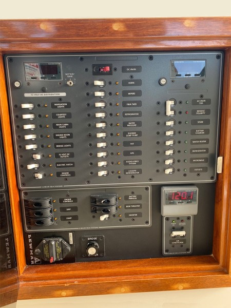 Electrical Panel at Helm