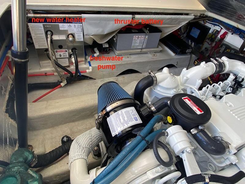 Engine Room to Port