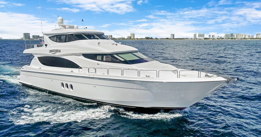 Photo of 80' Hatteras Enclosed Bridge Motor Yacht 2012