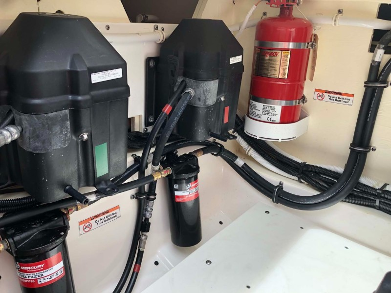 Trim Pumps and Halon System