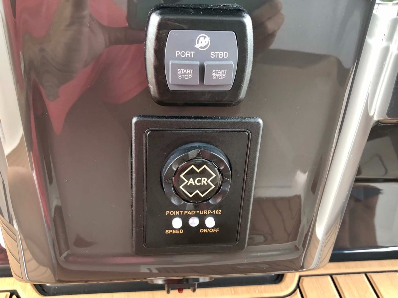 Engine Switches and Spotlight Control