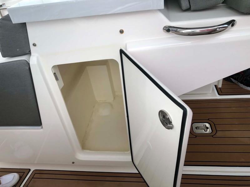 Storage Under Helm Seats
