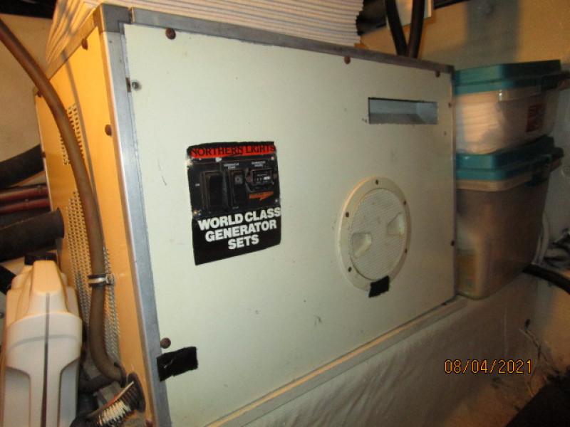 36' Sabreline generator