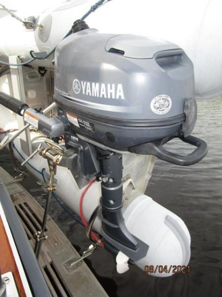 36' Sabreline tender outboard