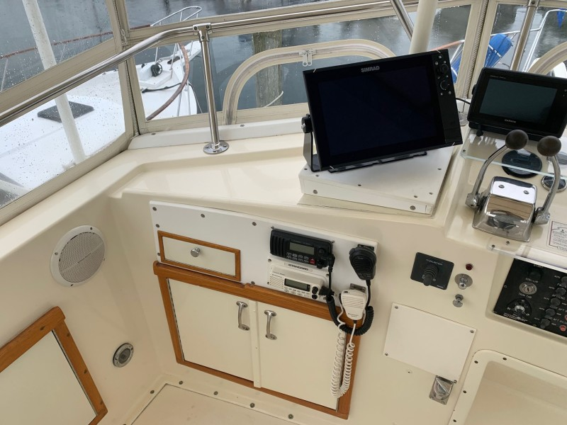 Helm Area to Port