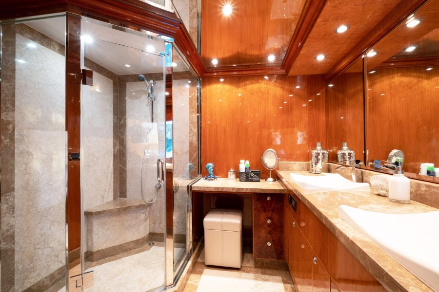 Master Stateroom Shower and Head