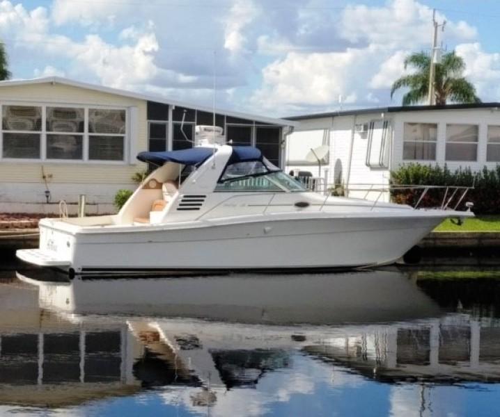 2001 Sea Ray 340 Amberjack Profile