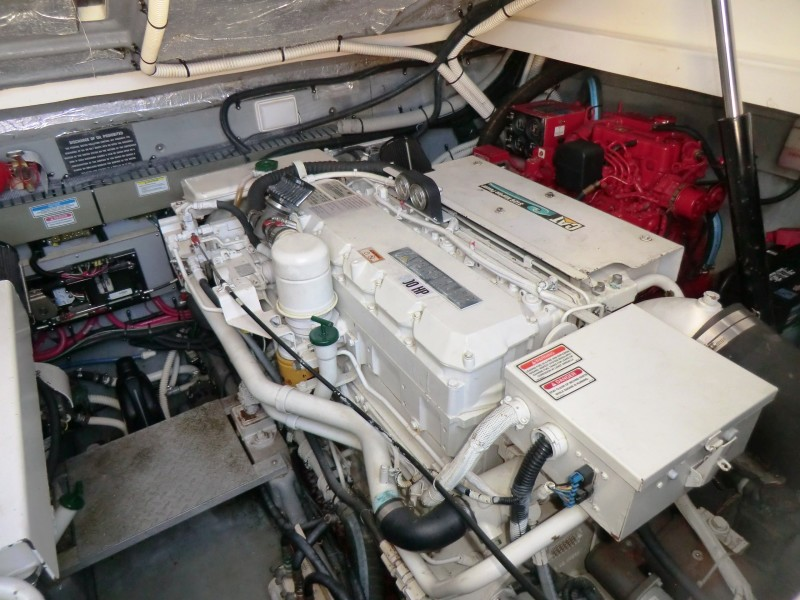 2001 Sea Ray 340 Amberjack STB Engine And Gen