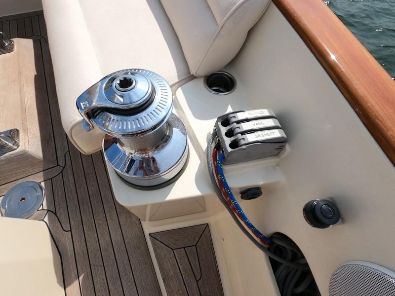 Stbd. Sail Controls