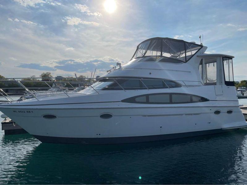 2001 Carver 396 Motor Yacht   HYRDO THERAPY