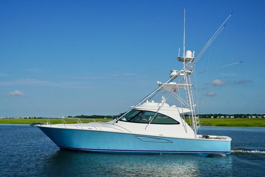 Viking 48 - Blue Dawg - Exterior Profile