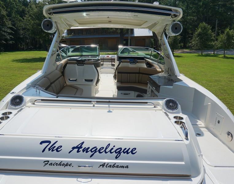 2017 35 Sea Ray 350 SLX The Angelique Looking Forward