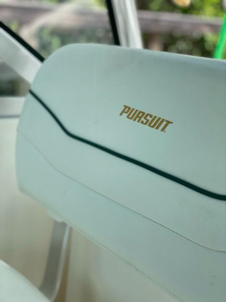 2000 Pursuit 3000 Express - Lucky Dawg - Helm Seat