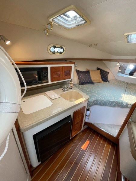 2000 Pursuit 3000 Express - Lucky Dawg - Galley