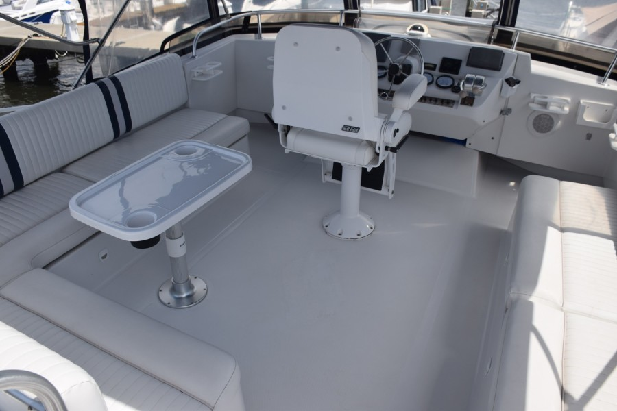 Flybridge from Aft View