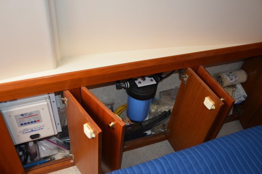 Watermaker in Cabinet by Master
