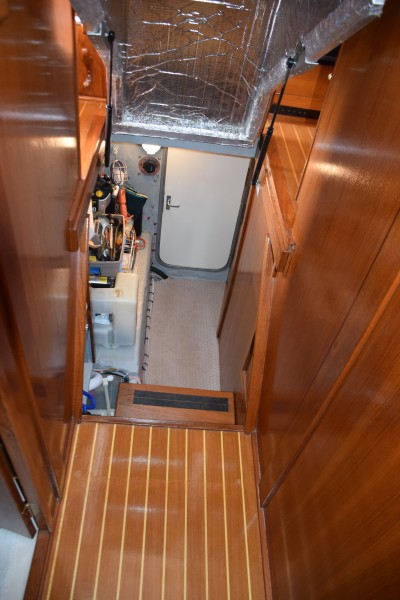 Engine Room Entry Under Raised Stairs