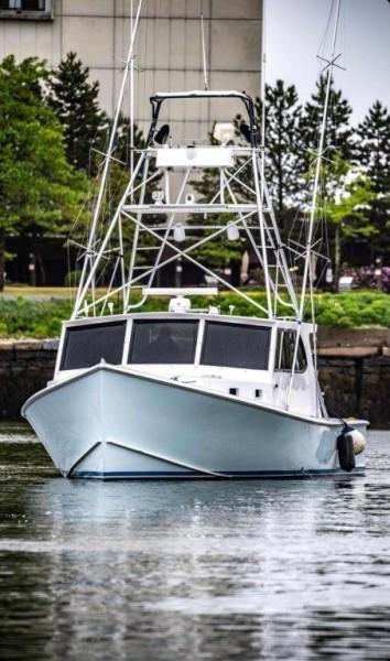 H&H Marine 40 - Hunt & Harvest - Bow Profile
