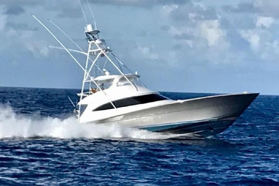 2018 Viking 72 Convertible - Galati Yacht Sales Trade