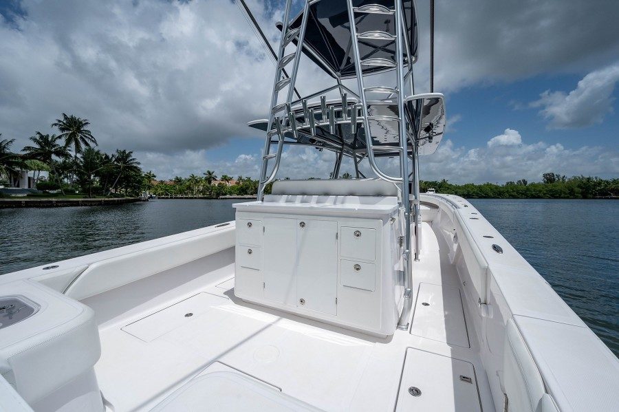 SeaHunter 45 - Medium Rare - Aft Deck
