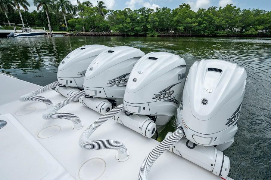 SeaHunter 45 - Medium Rare - Engines
