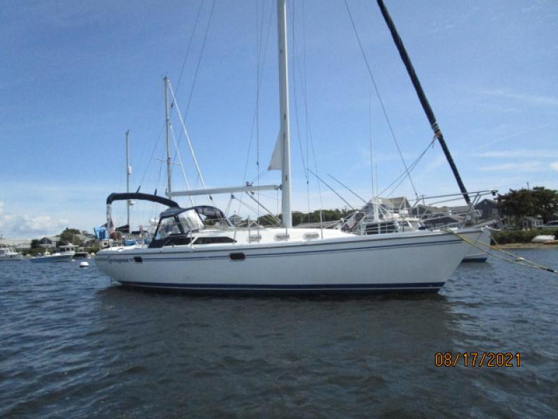 34' Catalina starboard profile1