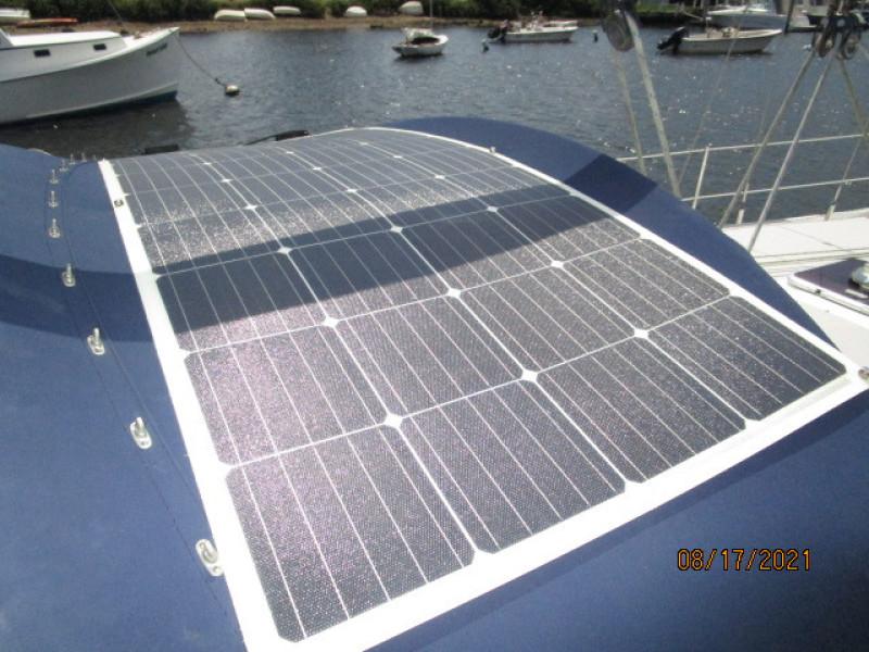 34' Catalina solar panel