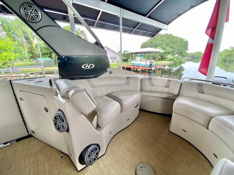 2016 Harris FloteBote V270 - Liquid Limo - Aft Seating