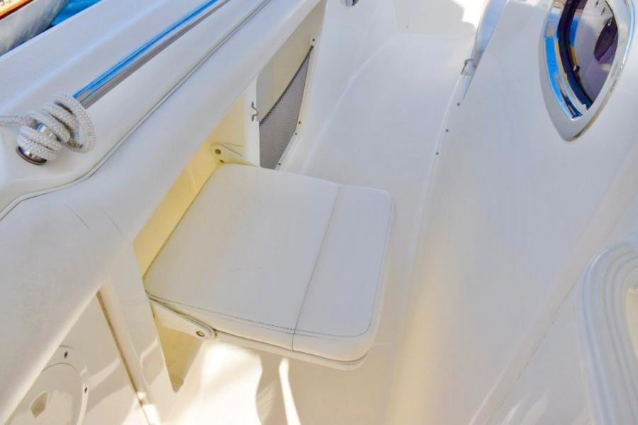 Portside deck jump seat