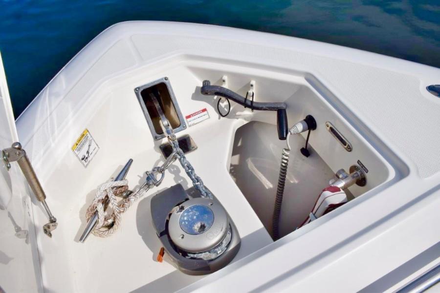 Windlass and anchor chute