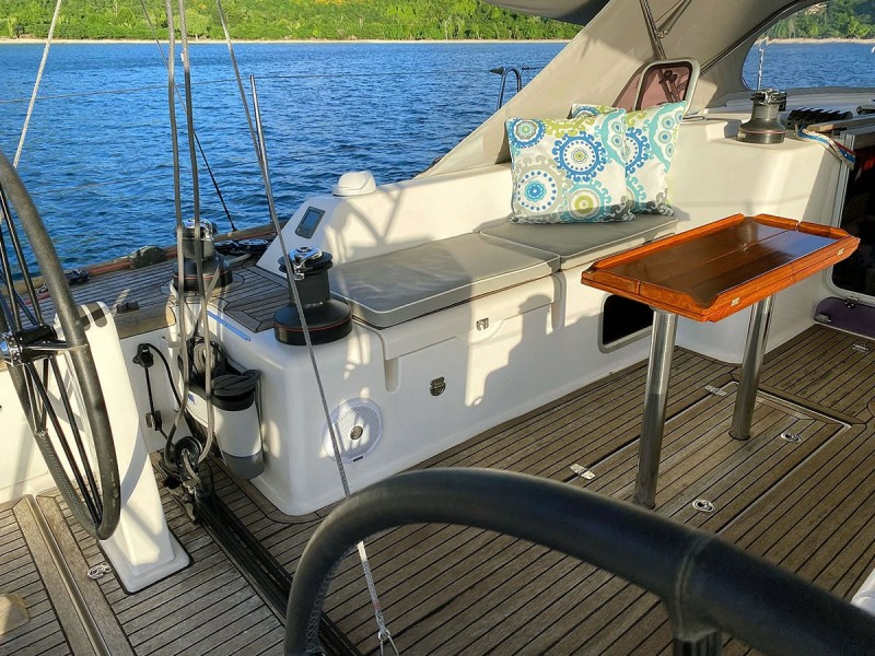 Port Cockpit Looking Outboard