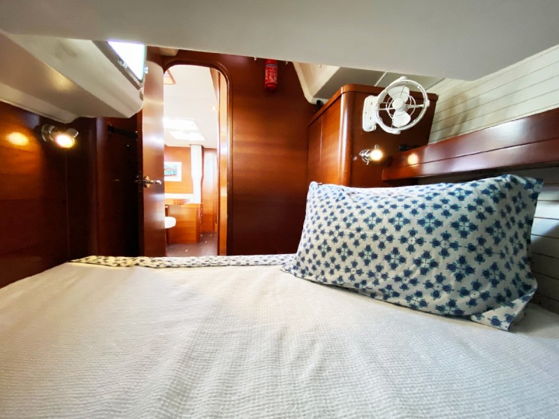 Stb Quarter Cabin Looking Fwd